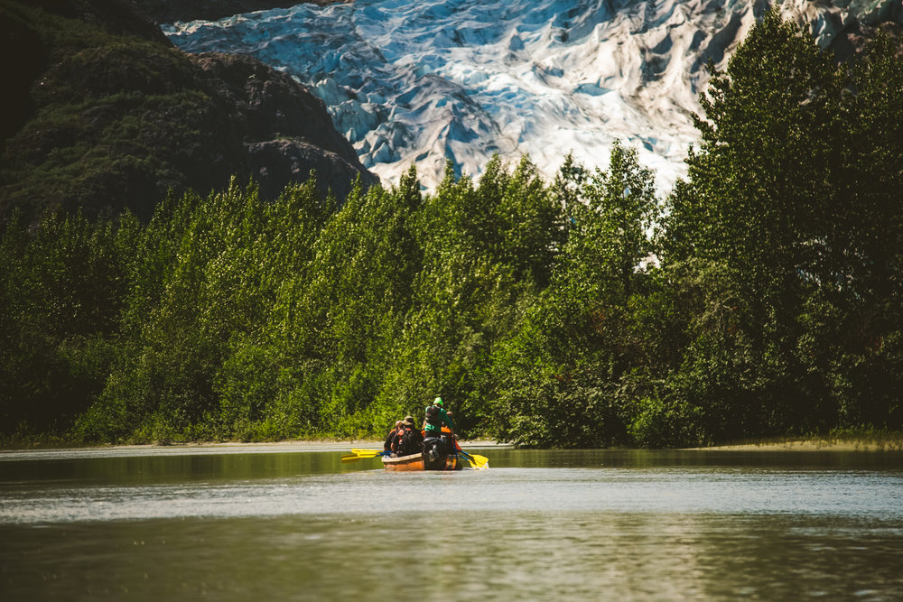 canoe trip to alaska in seward, alaska