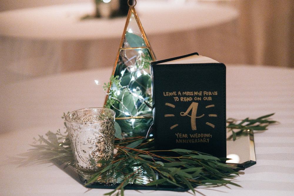 Wedding Reception Decor by Toledo Florist with Toledo Wedding Photographers