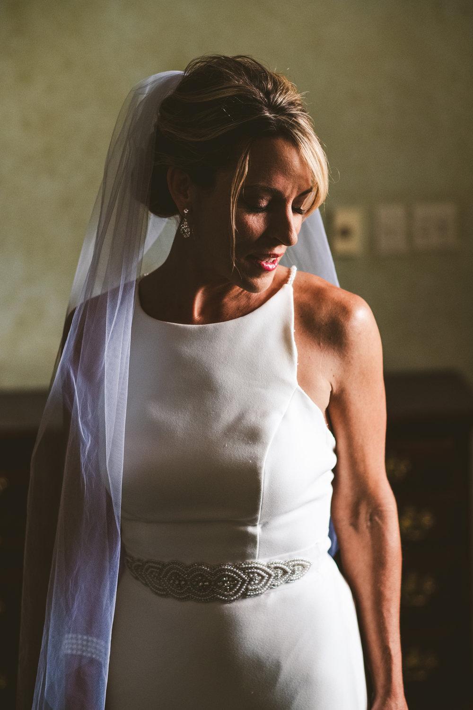 Toledo Wedding Photographers and Bride at Wedding for Dress Inspiration