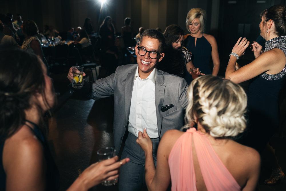 Toledo Wedding Photographers at Wedding Reception in Ohio