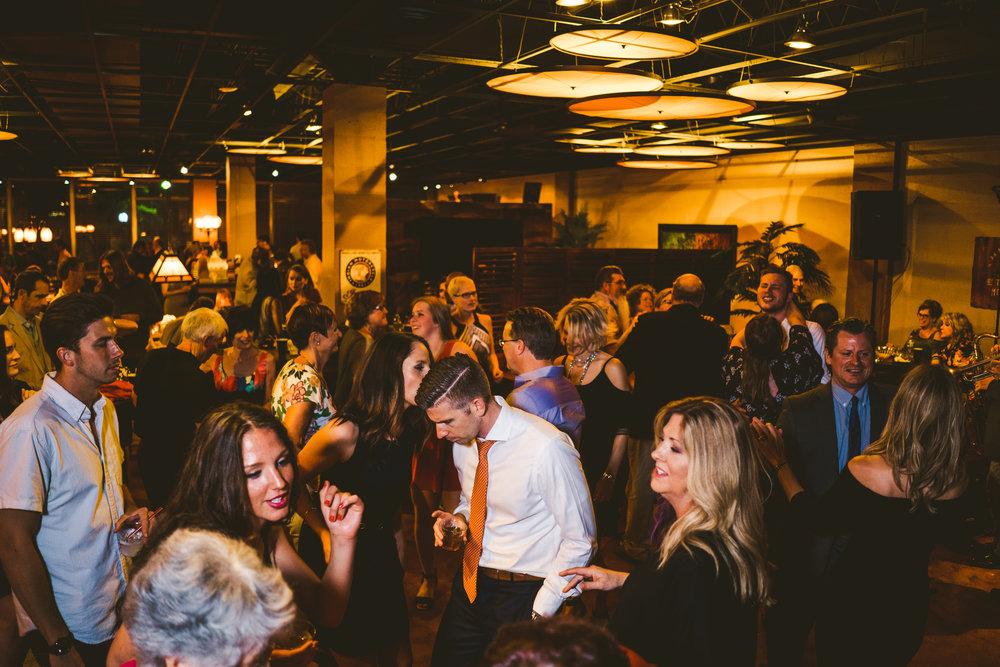Ohio Wedding Photographers Capture the Liveliness of a Reception in Toledo