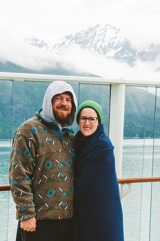 Traveling Destination Wedding Photographers from Toledo Ohio in Alaska