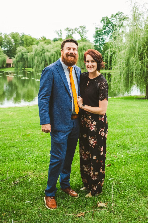 Image of Photographers from Northwest Ohio at Wedding