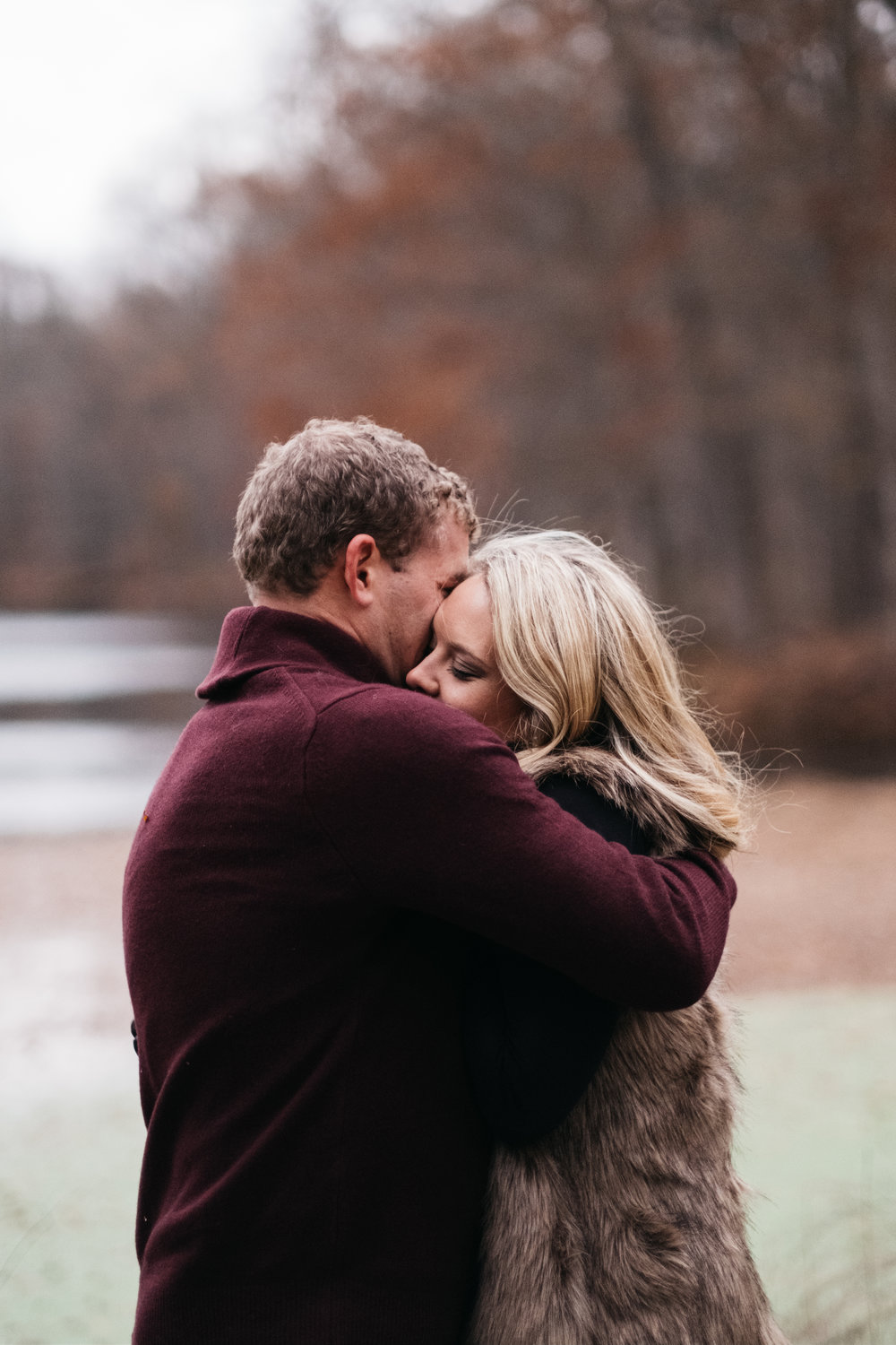 Photographers at Engagement Session in Toledo Ohio Capture Couple at Oak Openings
