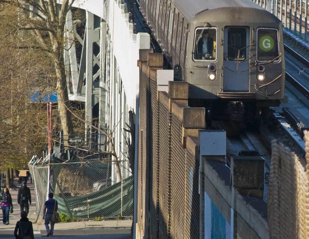 G Train: Gowanus Brooklyn