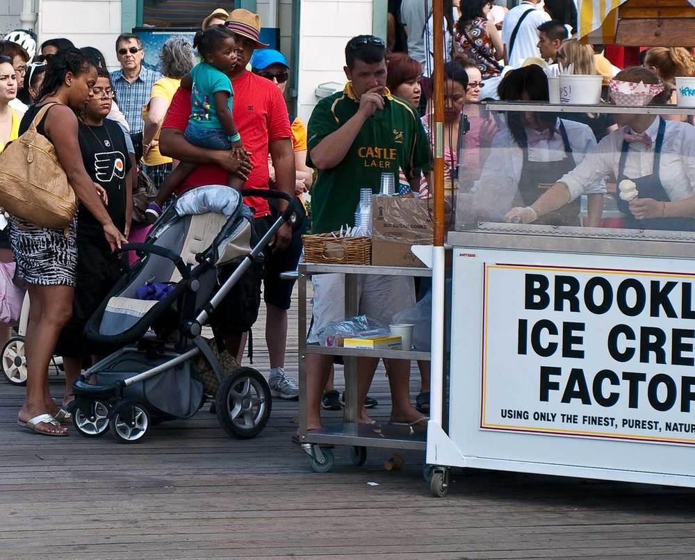 Brooklyn Bridge Park - Ice Cream