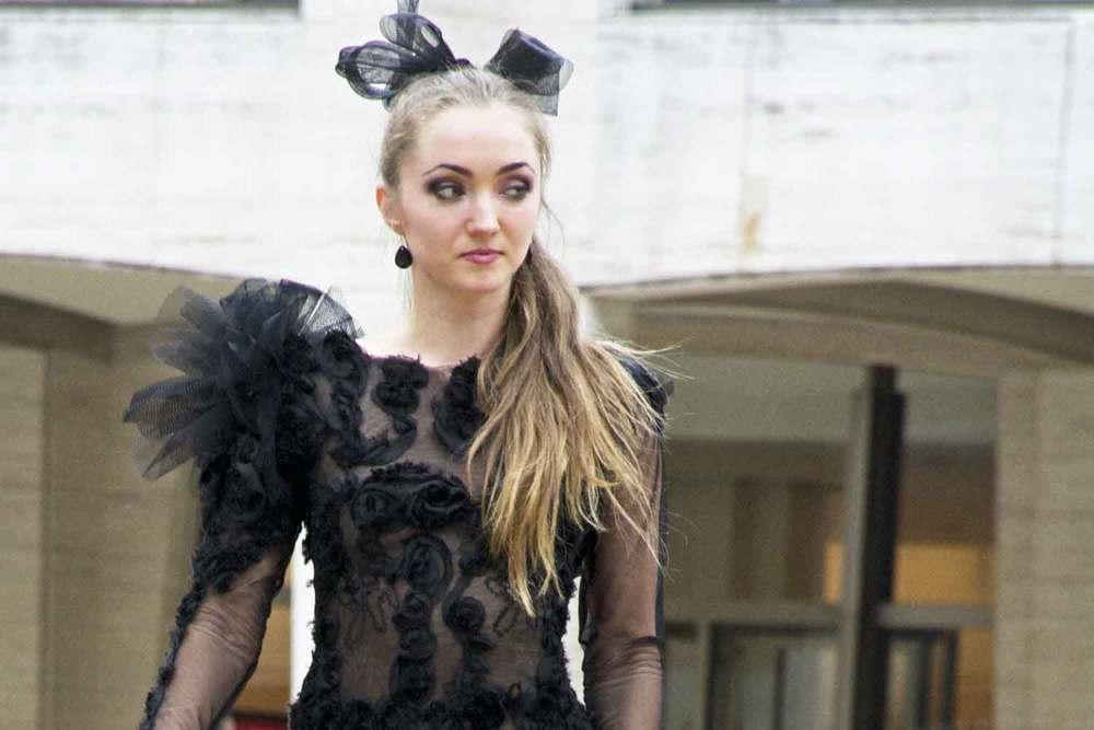 Fashion Week - Lincoln Center Model