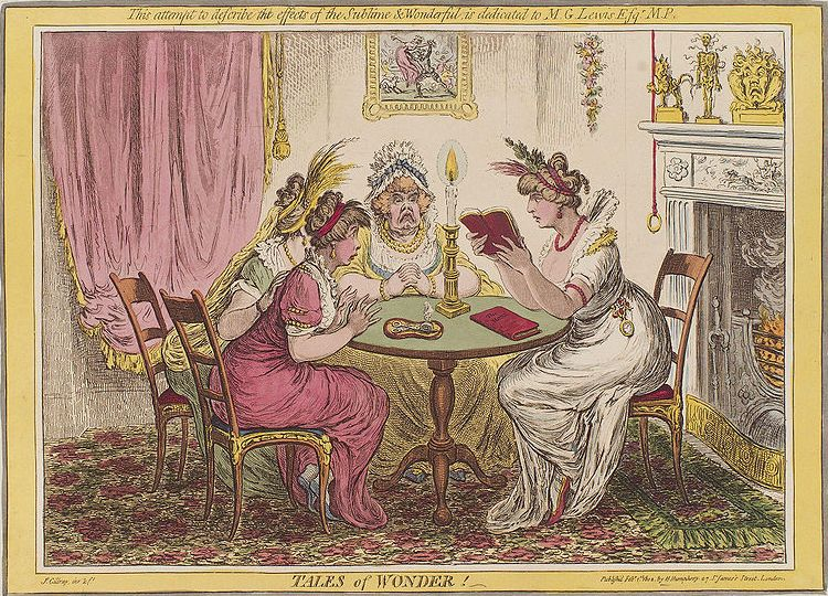 Gillray, Tales of Wonder