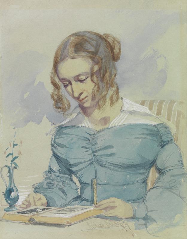 Dadd, Portrait of Maria Elizabeth Dadd, 1839