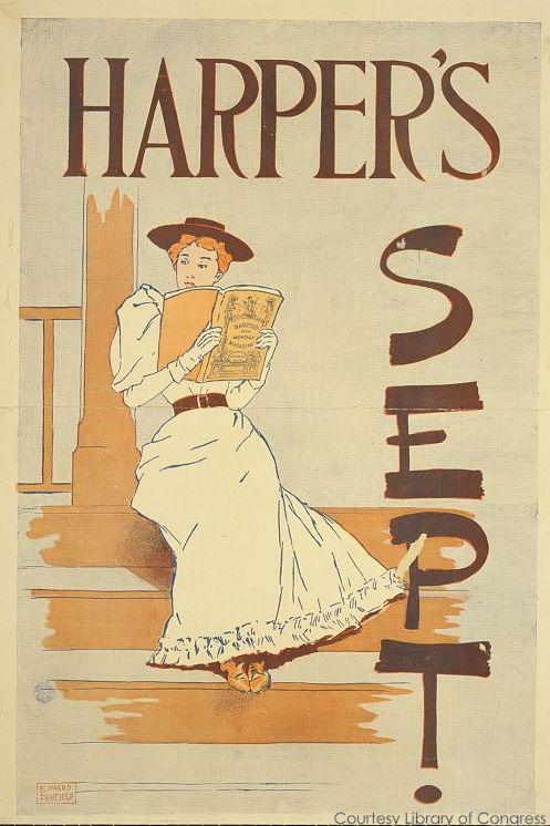 Cover of Harper's Magazine, September 1893