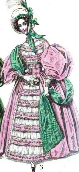 1835-10 Carriage dress