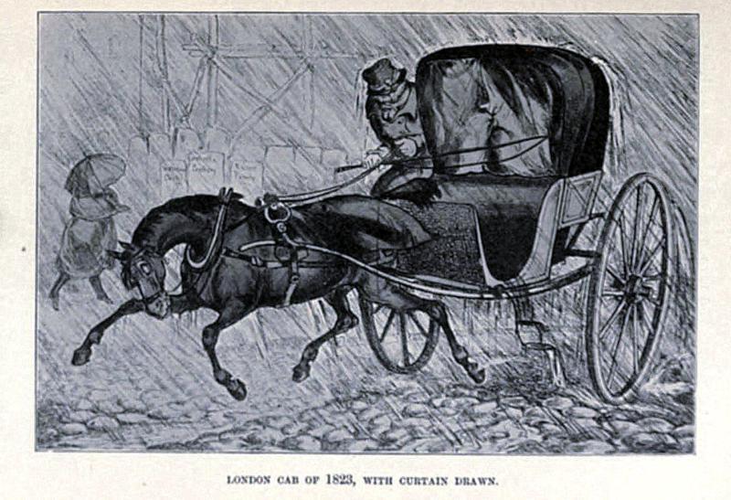 1823 Hackney cab