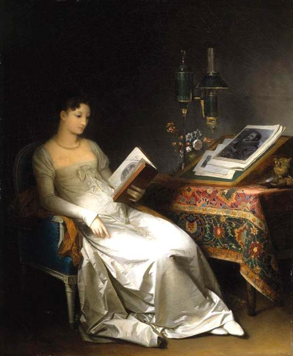 Marguerite Gérard, Lady Reading in an Interior