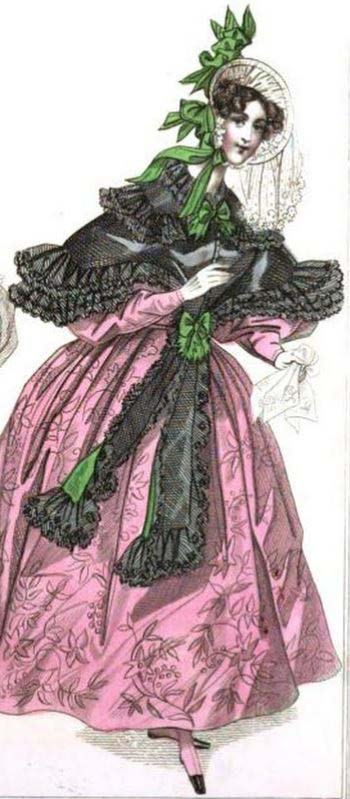 Carriage Dress for August 1833