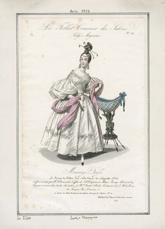 1833-07 Morning Dress French-Le Follet.jpg