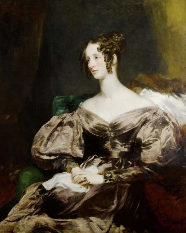 Margaret Sarah Carpenter,    Portrait of Harriet Brudenell, Countess Howe