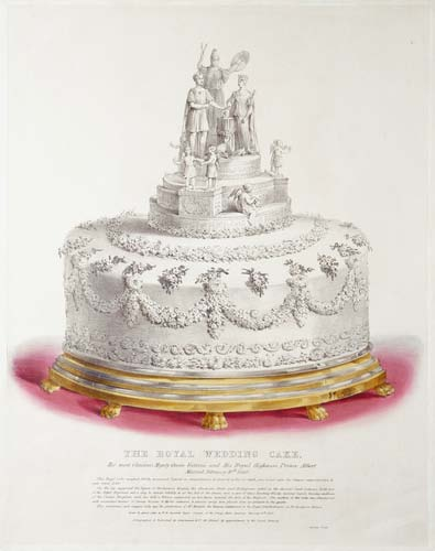 Queen Victoria's Wedding Cake-Royal collection.jpg