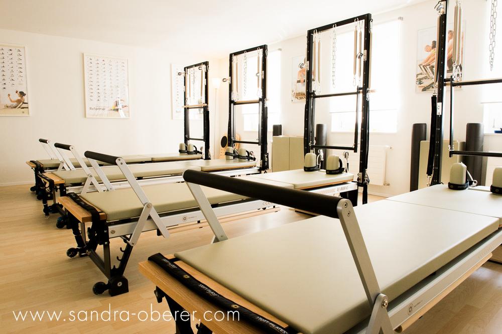 Innenaufnahmen Pilates Studio Luzern
