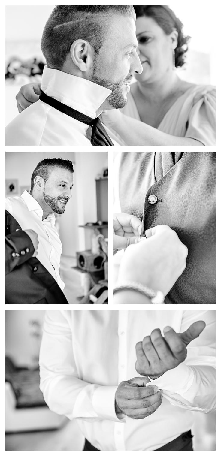wedding, get ready, Hochzeit, Bräutigam