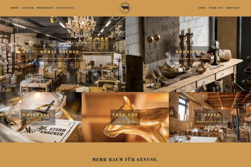 www.einfach-kuhl.ch - Webdesign & Bilder, Texte