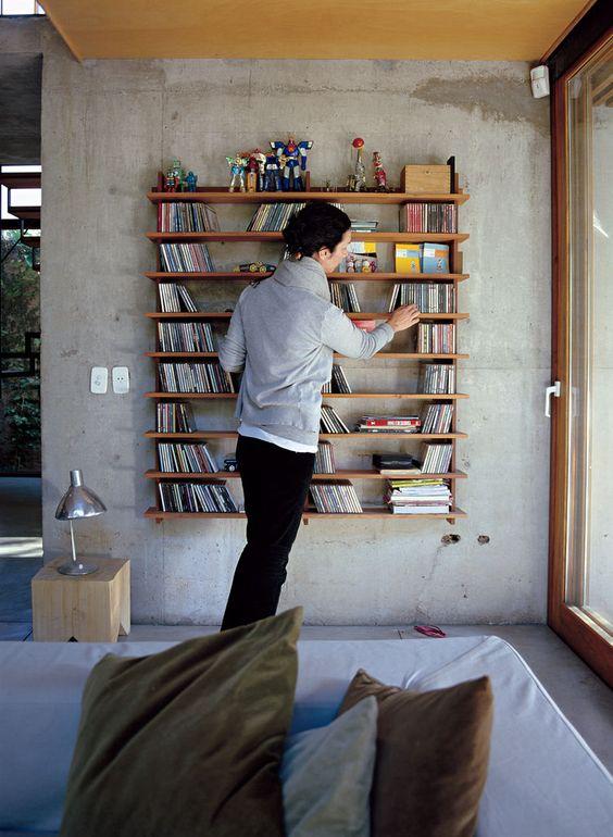 Este pin nos leva a um post do site Dwell que mostra o que acontece quando designers e arquitetos projetam para si mesmos. (vale a visita) Na foto casa em Buenos Aires do designer de mobiliario argentino Alejandro Sticotti.