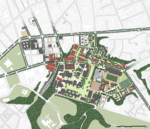 Carnegie Mellon University Athletics & Rec Master Plan