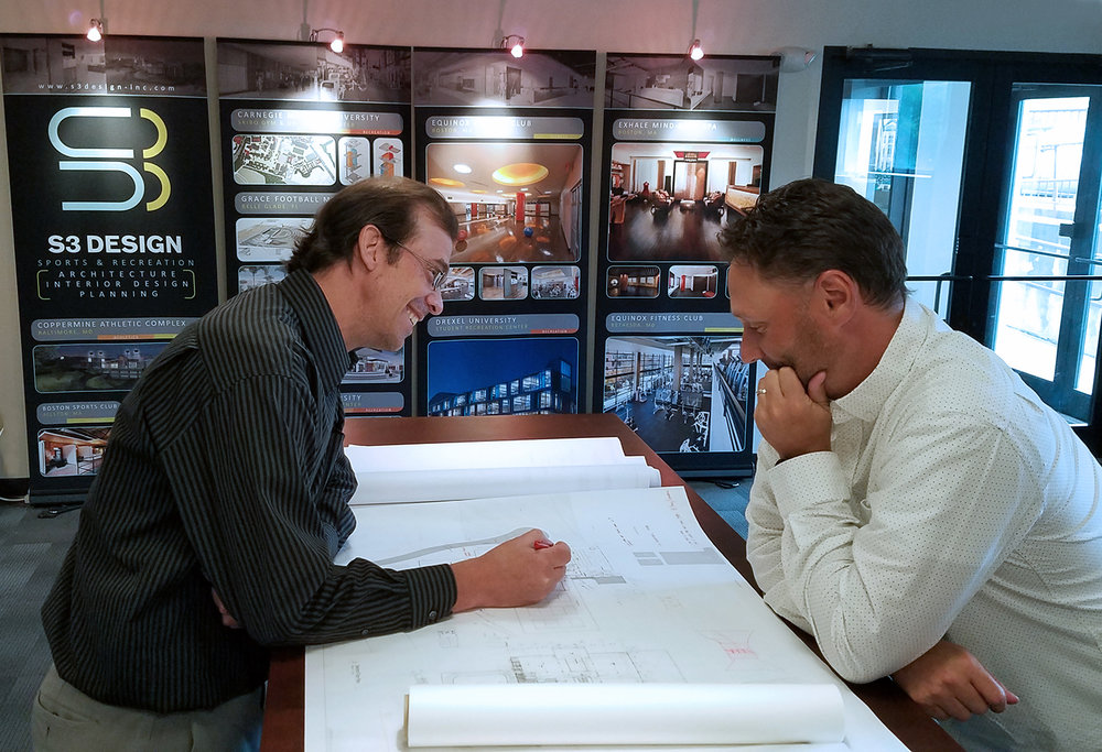 Principals Salvatore Canciello (left) and Bryan Dunkelberger (right)