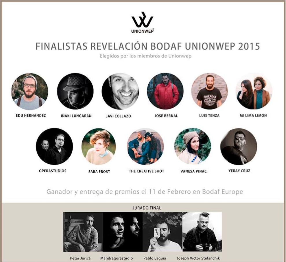 Nominación Fotógrafo Revelación 2015