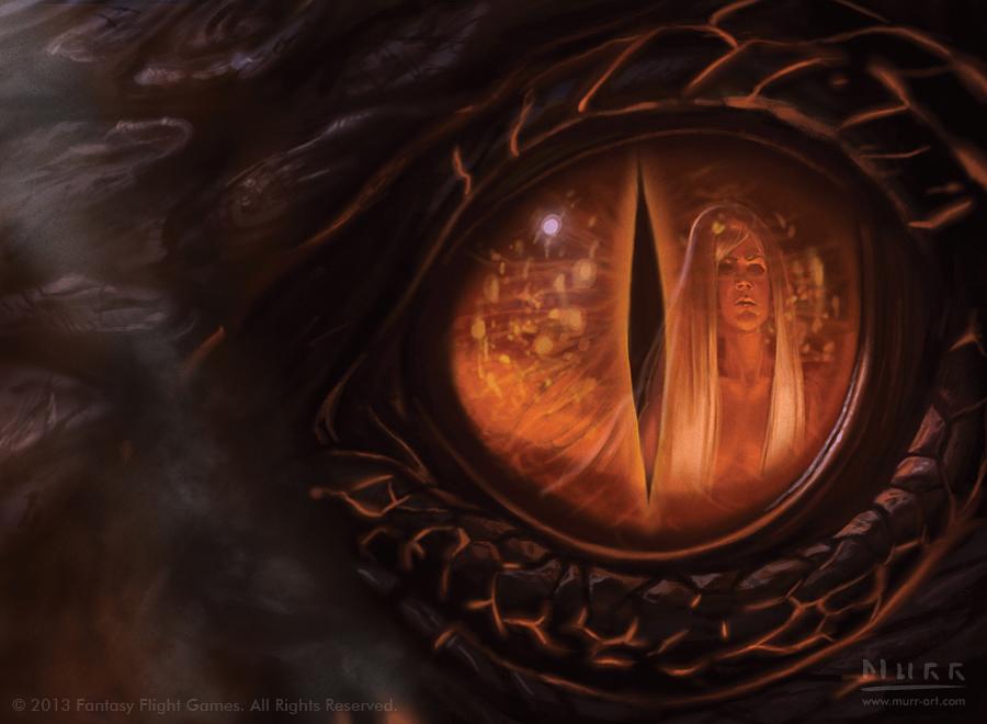 """""""Fire Made Flesh"""", Client: Fantasy Flight Games, 2013, digital"""