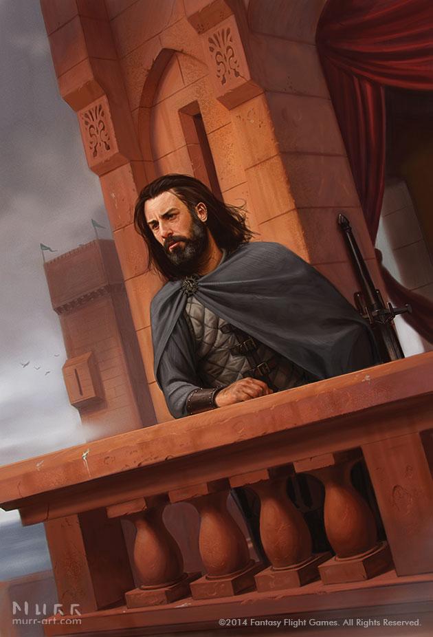 """Red Conspiracies"", Client: Fantasy Flight Games, 2014, digital"