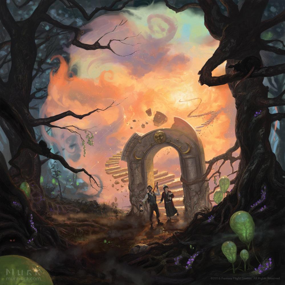"""The Dreamlands"", Client: Fantasy Flight Games, 2016, digital"