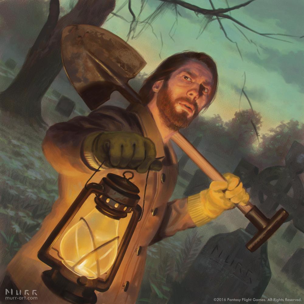 """William Yorrick"", Client: Fantasy Flight Games, 2016, digital"