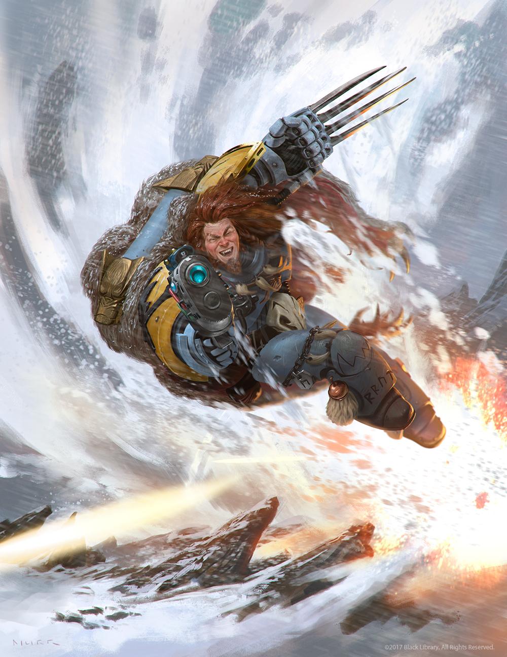Warhammer 40K - Lukas the Trickster