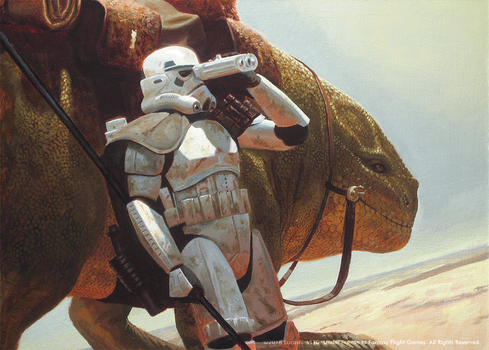 Star Wars - The Dewback Rider