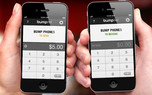 Bump Pay Send + Receive money in person with anyone with a PayPal account.