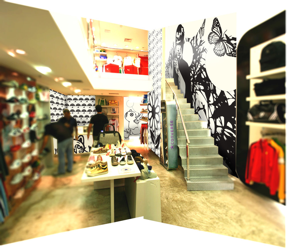 RETAIL BRAND CREATION: STORE EXPERIENCE DESIGN / ENTRANCE VIEW