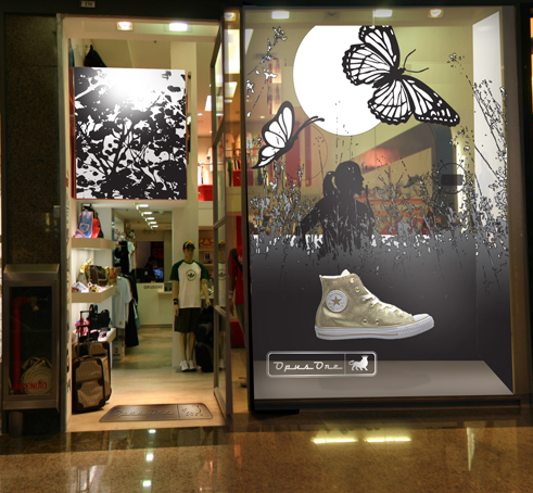 RETAIL BRAND CREATION: STORE EXPERIENCE DESIGN / EXTERNAL VIEW