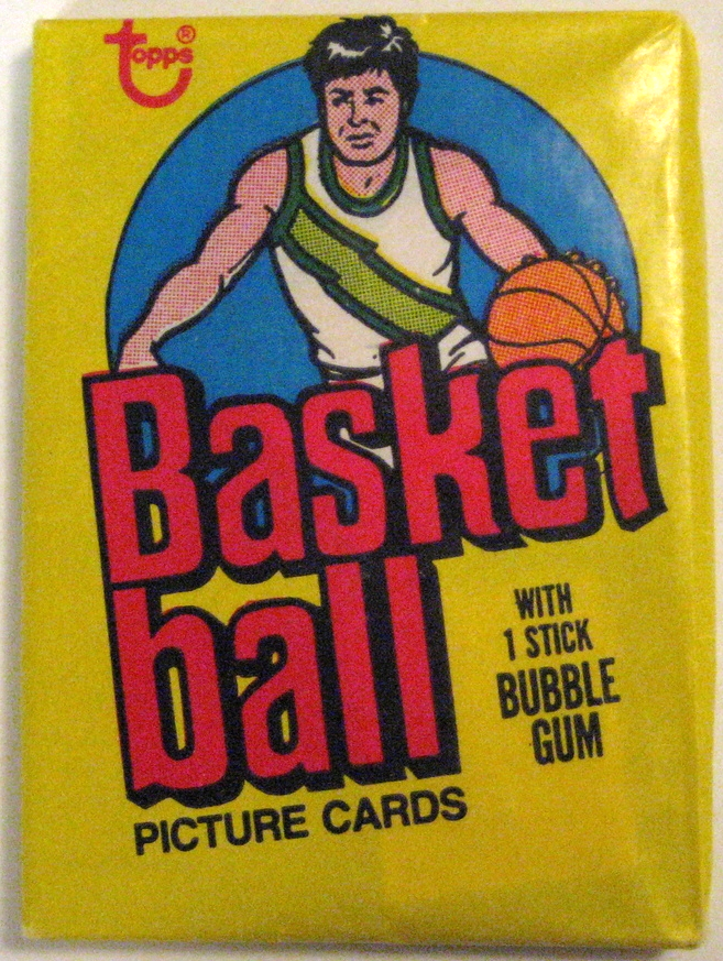 1978-79 Topps Basketball Pack: The 1978 and 1979 Topps Basketball packs are two of the cheaper ones from that era. They are quite plentiful, and easy to find in good condition.  Bernard King's rookie card  is one of the standouts from this set.