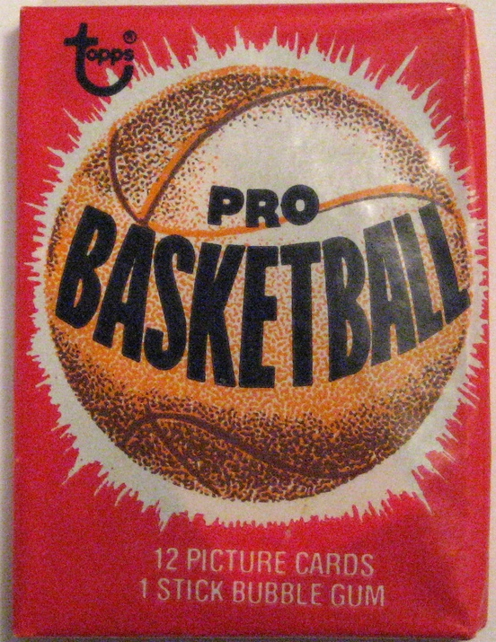 1979-80 Topps Basketball Pack: This is a very basic pack... Maybe a little too basic for my taste. Nothing super exciting going on either on the pack, or  in the set itself  apart from Alex English's rookie