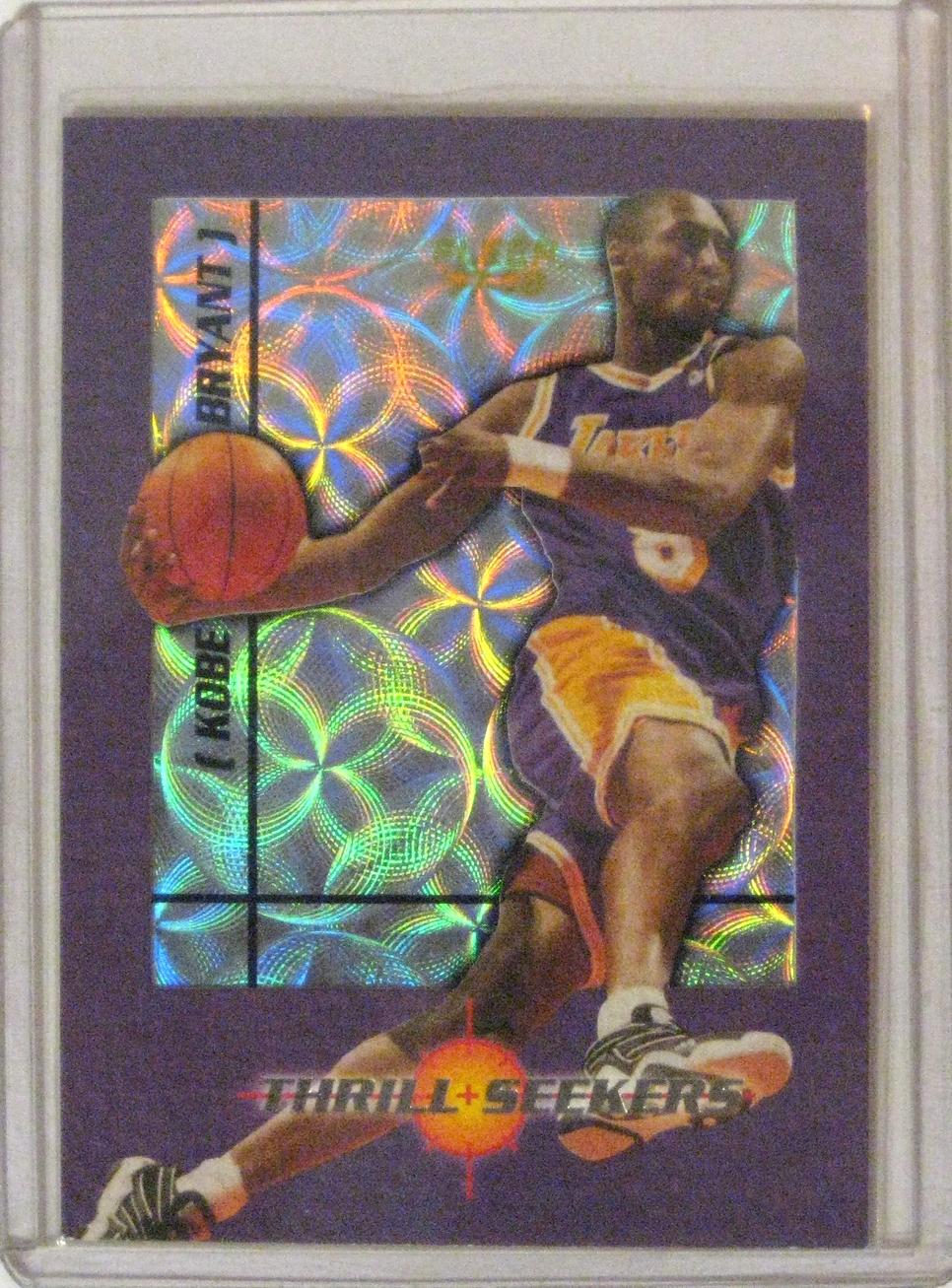 1997-98 Fleer Thrill Seekers Kobe Bryant.