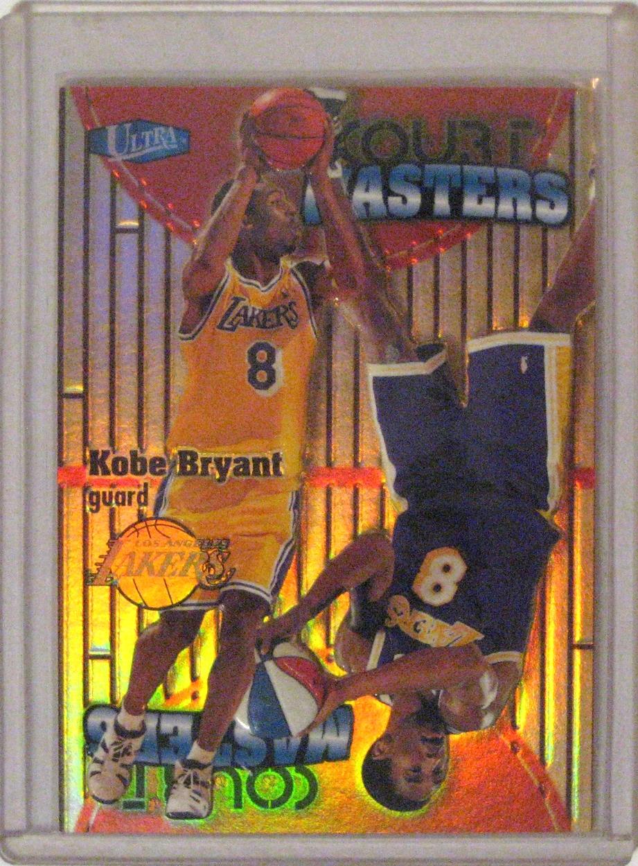 Kobe 1997-98 Ultra Court Masters Kobe Bryant.