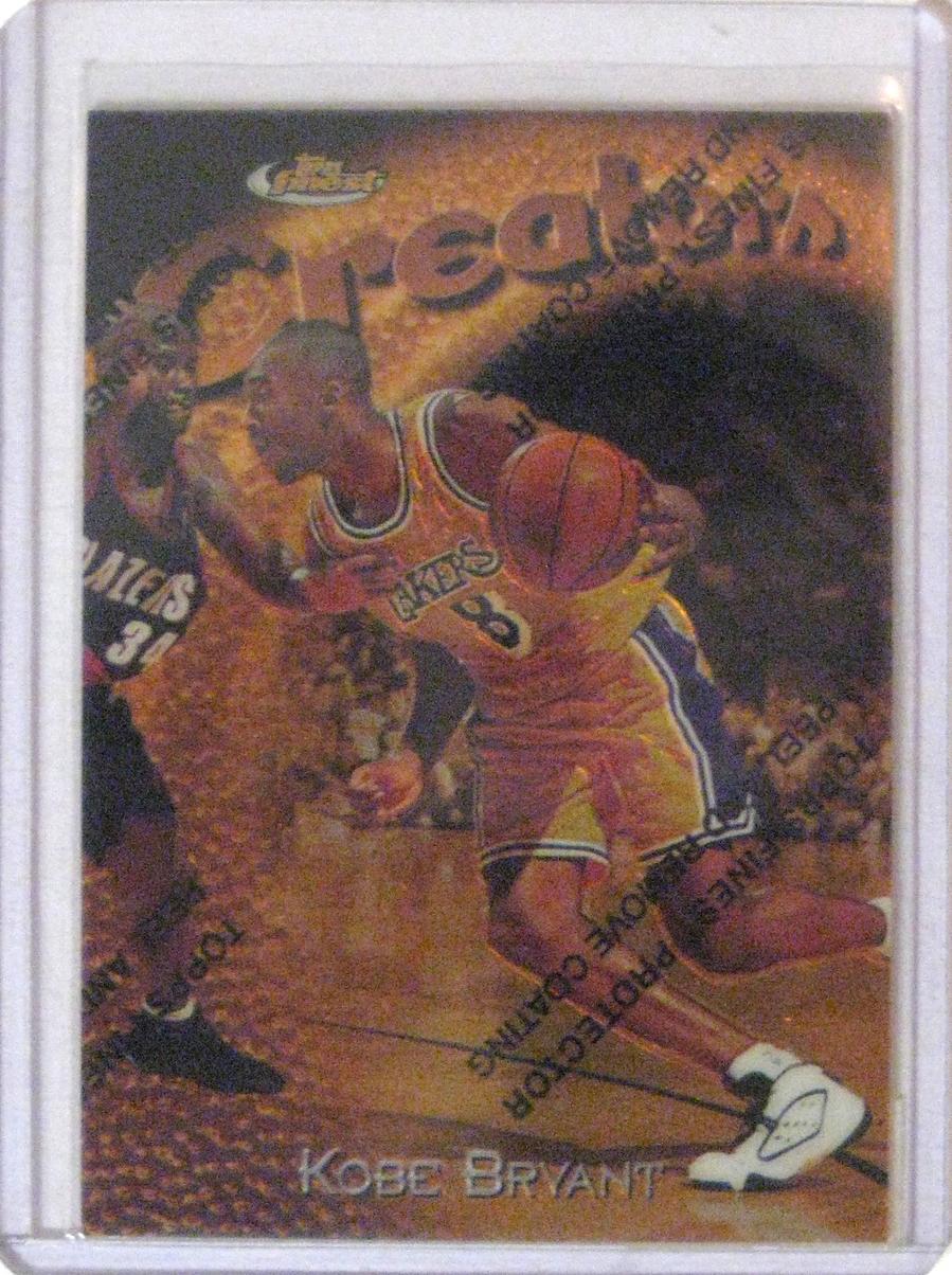 1997-98 Topps Finest #232 Kobe Bryant.