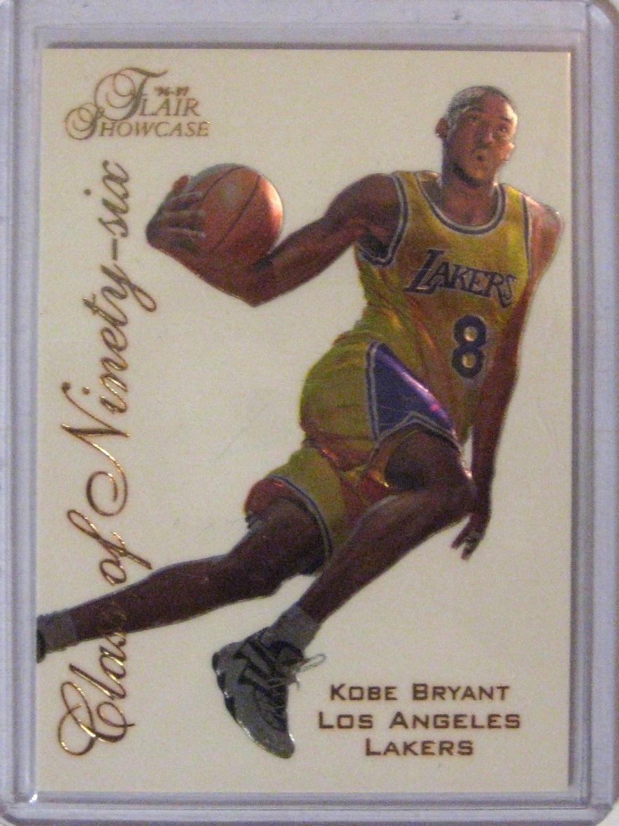 1996-97 Flair Showcase Class of '96 Kobe Bryant.