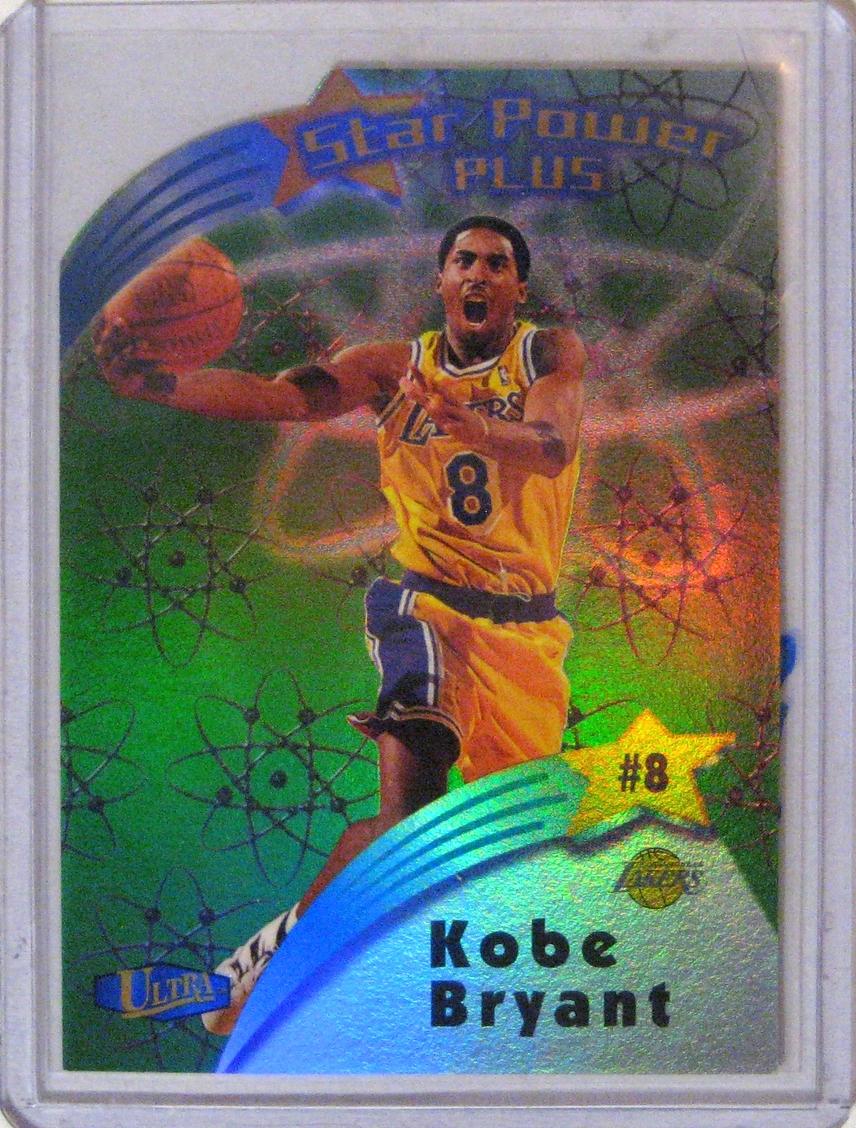 1997-98 Ultra Star Power Plus Kobe Bryant.