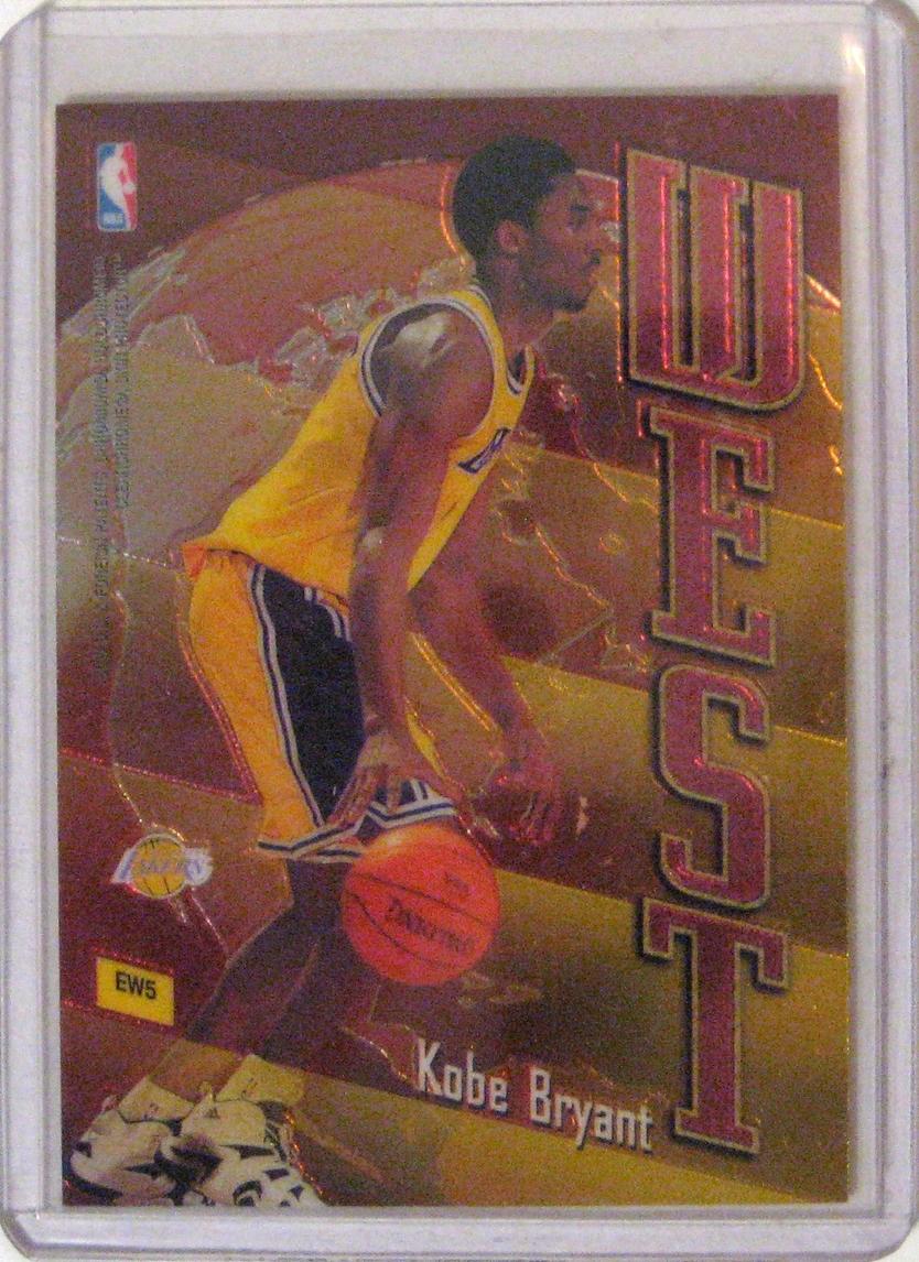 1998-99 Topps East/West Kobe Bryant & Michael Jordan