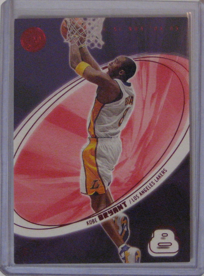 2004-05 E-Xl Essential Credentials Future Kobe Bryant: This card is a nice parallel, numbered to just 106.