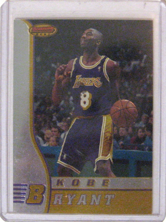 1996-97 Bowman's Best Kobe Bryant Rookie Card