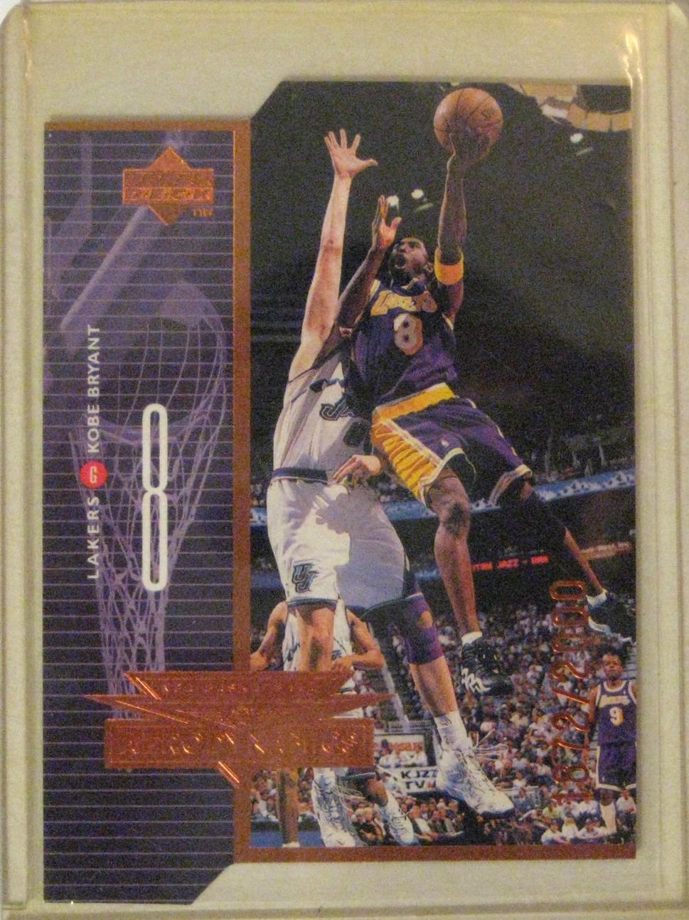 1998-99 Upper Deck Aerodynamics Kobe Bryant Bronze #/2000