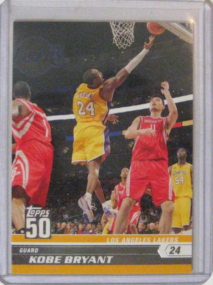 2007-08 Topps 50th Anniversary Kobe Bryant