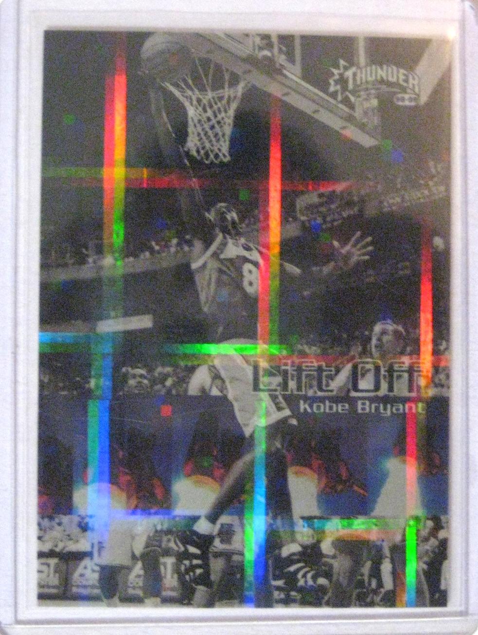 1998-99 Skybox Thunder Lift Off Kobe Bryant